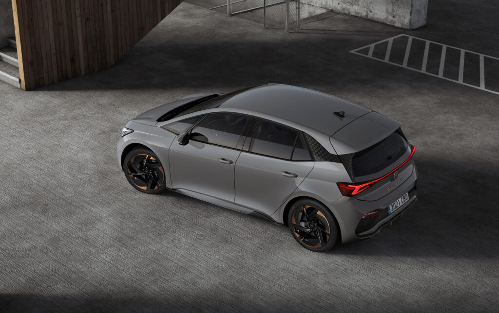 CUPRA Born: the brand's first all-electric vehicle