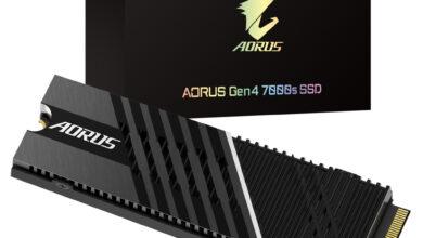 GIGABYTE AORUS Gen4 7000s 2TB M.2 SSD