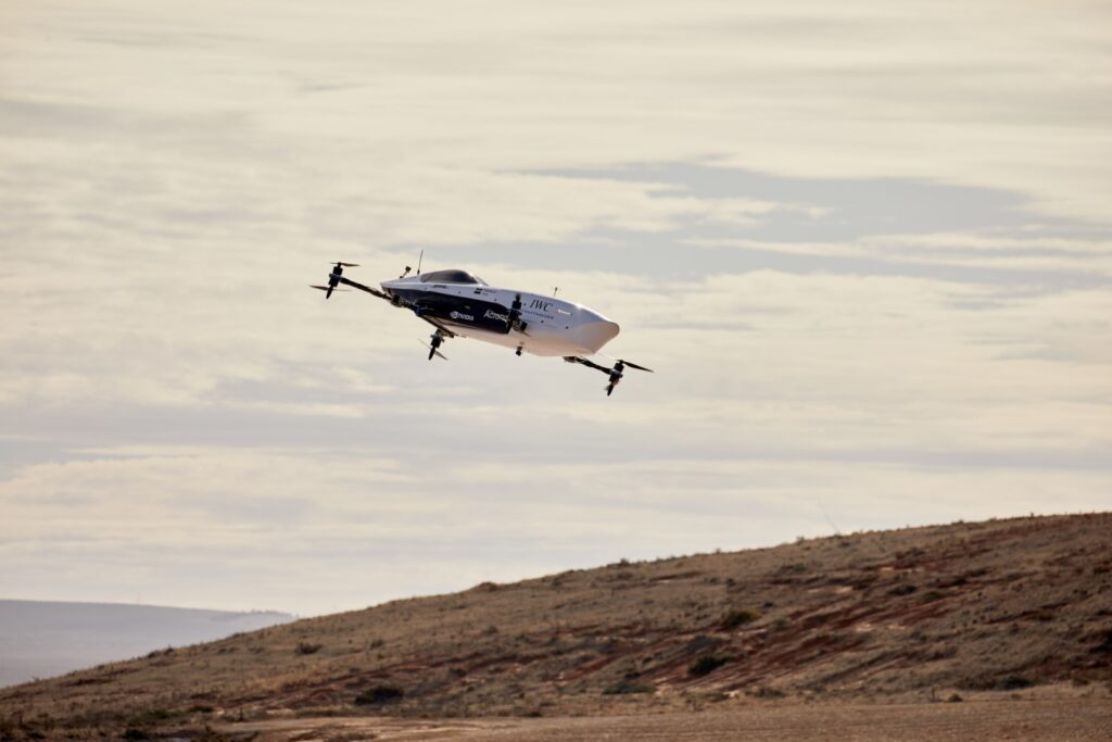 flying electric cars. Airspeeder and EXA represent the future of motorsport