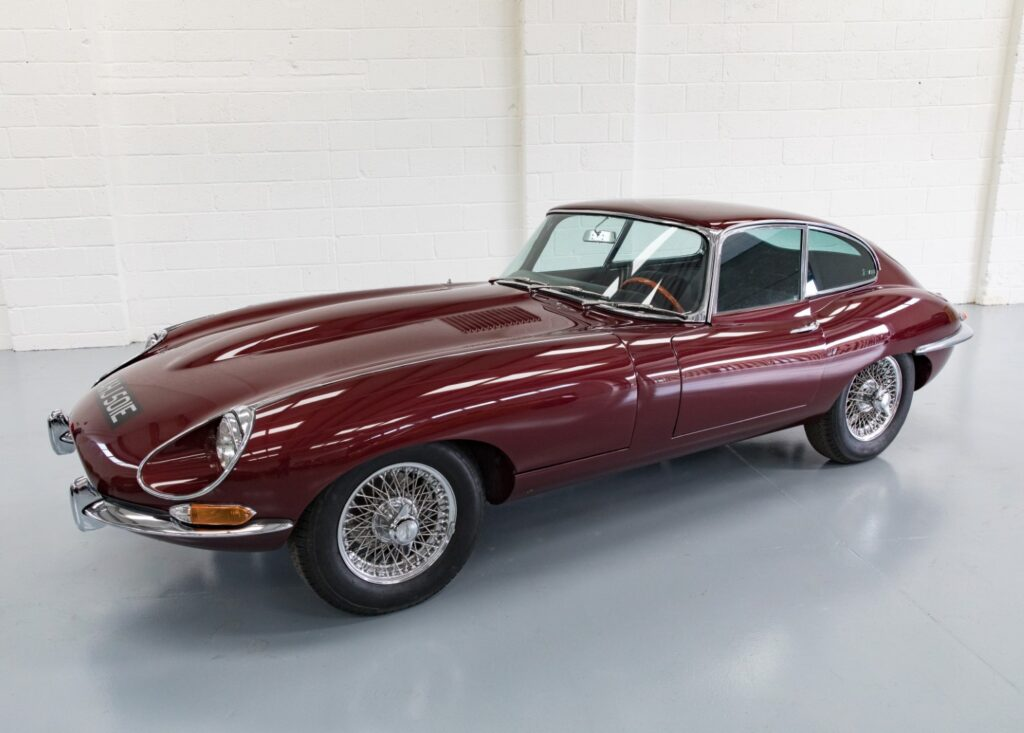 Leader in retro electric vehicle technology and integration, Electrogenic, electrifies a Jaguar E-type Series 1¼ Coupe