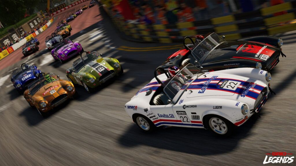 GRID™ Legends, a high-stakes driving experience that combines thrilling motorsport action - Become a Racing Legend