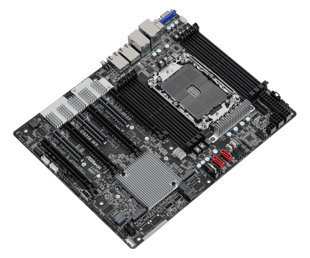 ASRock C621A WS for Server and Workstation Application