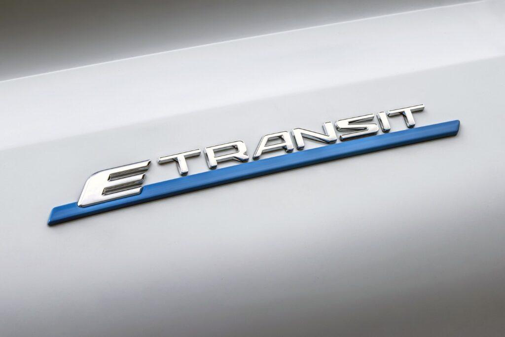 Ford E-Transit logo
