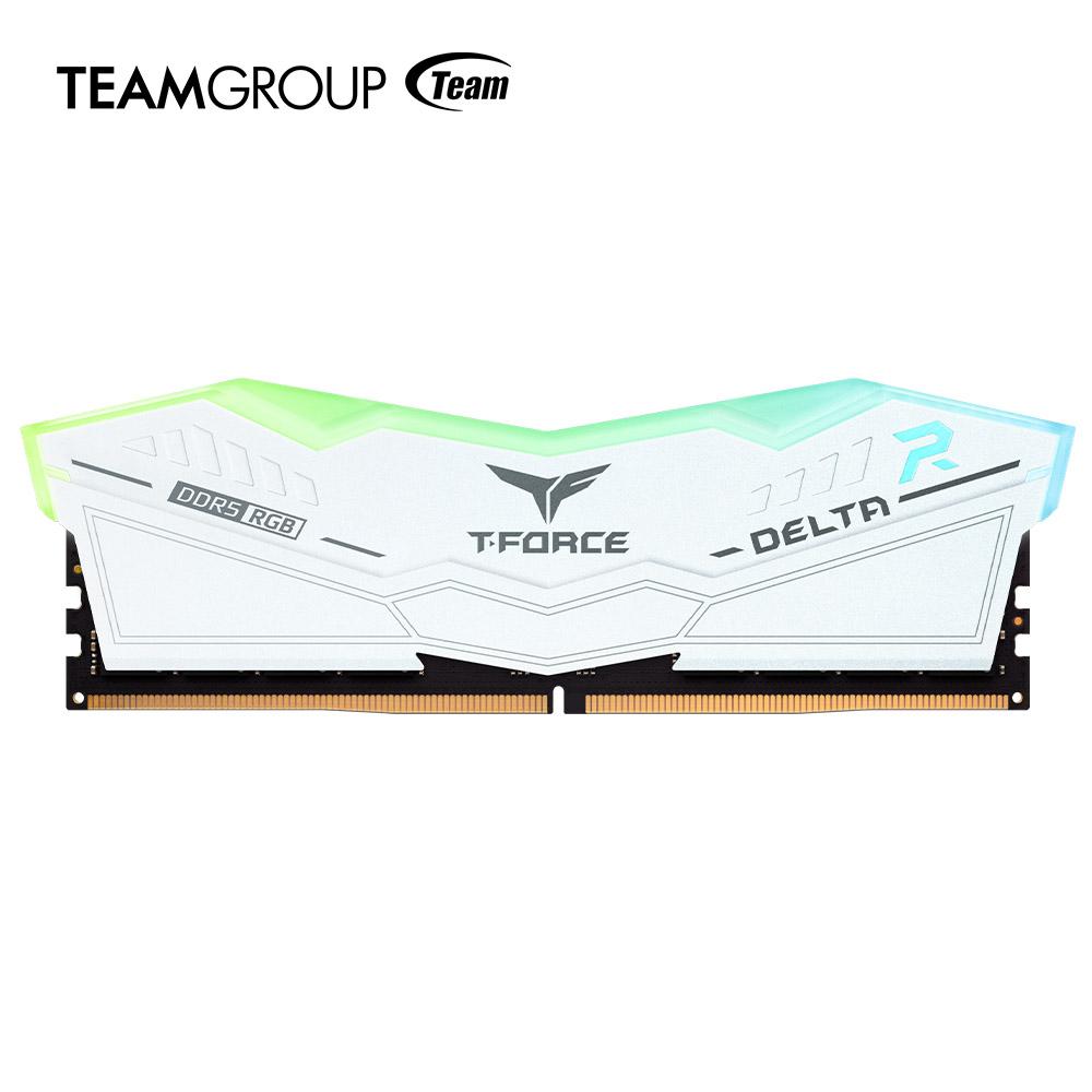 TEAMGROUP Bringing RGB to Next-Gen DDR5 - WHITE XMP