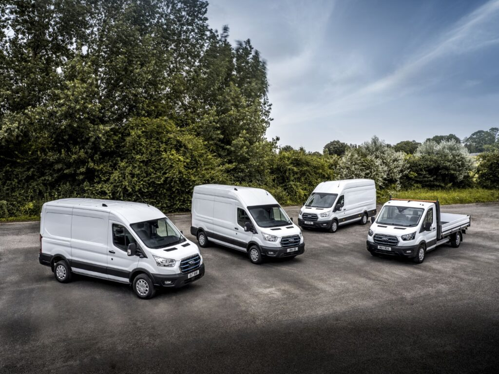Ford E-Transit Hits the Road as Fleet Customers Begin Trial